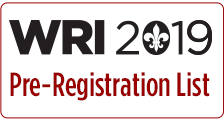 WRI 2019 Pre-Registration List